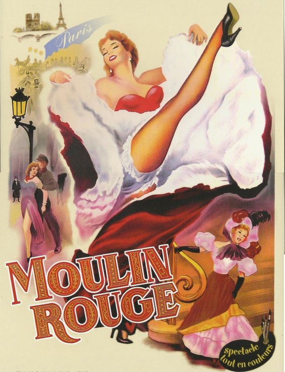 Moulin rouge, Advertising and Moulin rouge paris on Pinterest