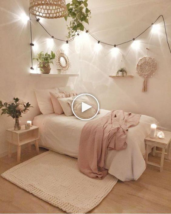 Las Ideas De Decoracion De Paredes Mas Bellas Cute Dorm Rooms Cozy Room Redecorate Bedroom