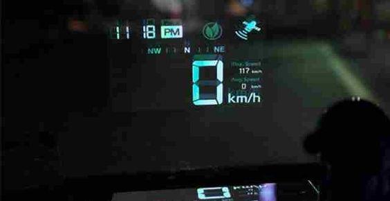 HUD che cosa è ? come si usa su telefoni GPS Sygic, Navigon ?
