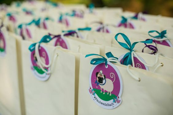 wedding gift bags by Rachanadesign