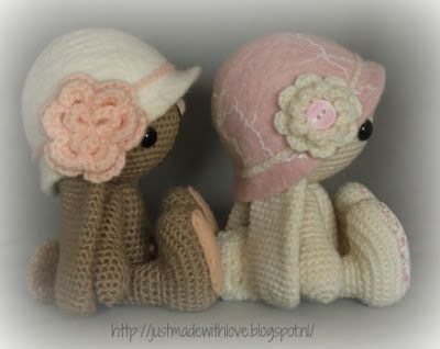 Just made with love by Antoinette: Een hoedje voor Michi