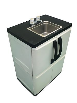 portable outdoor sink garden camp kitchen camping rv | gardens