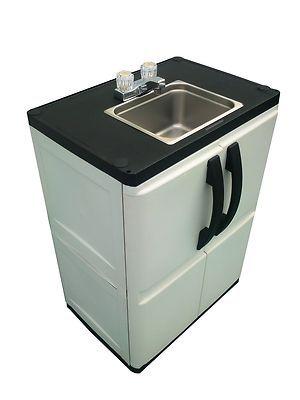 portable outdoor sink garden camp kitchen camping rv | gardens