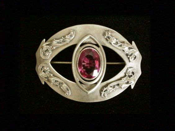 Victorian Sash Pin. Wow! Available for Purchase.