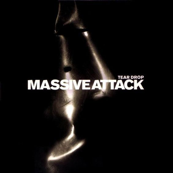 Massive Attack, Elizabeth Fraser – Teardrop (single cover art)