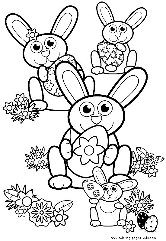 Easter Coloring Pages | ... Easter coloring pages and sheets can be ...