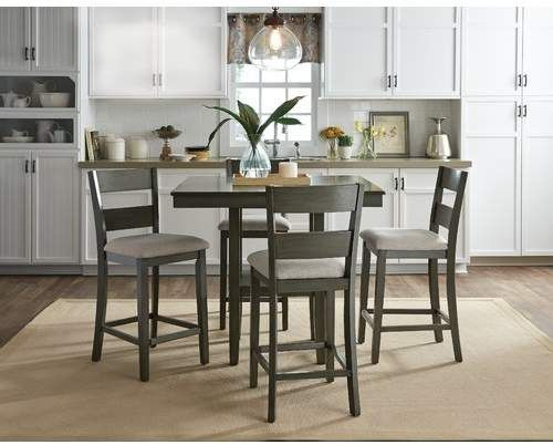 Brantford 5 Piece Counter Height Dining Set Lb Dimensions Weight