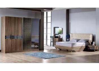 Chambre ŕ Coucher Kristel Modern Bedroom Furniture