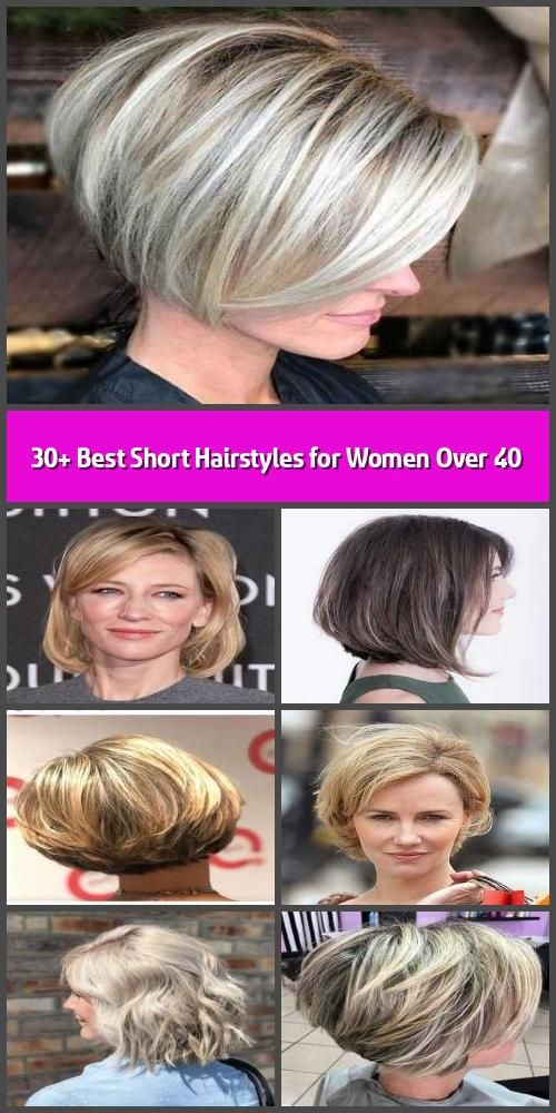30 Best Short Hairstyles For Women Over 40 Having A Hairstyle That Suits You The Best Is Certif In 2020 Short Hair Styles Cool Short Hairstyles Womens Hairstyles