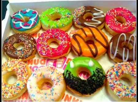 Donuts - Veja mais em: http://www.cybercook.com.br/receita-de-donuts.html?codigo=108042