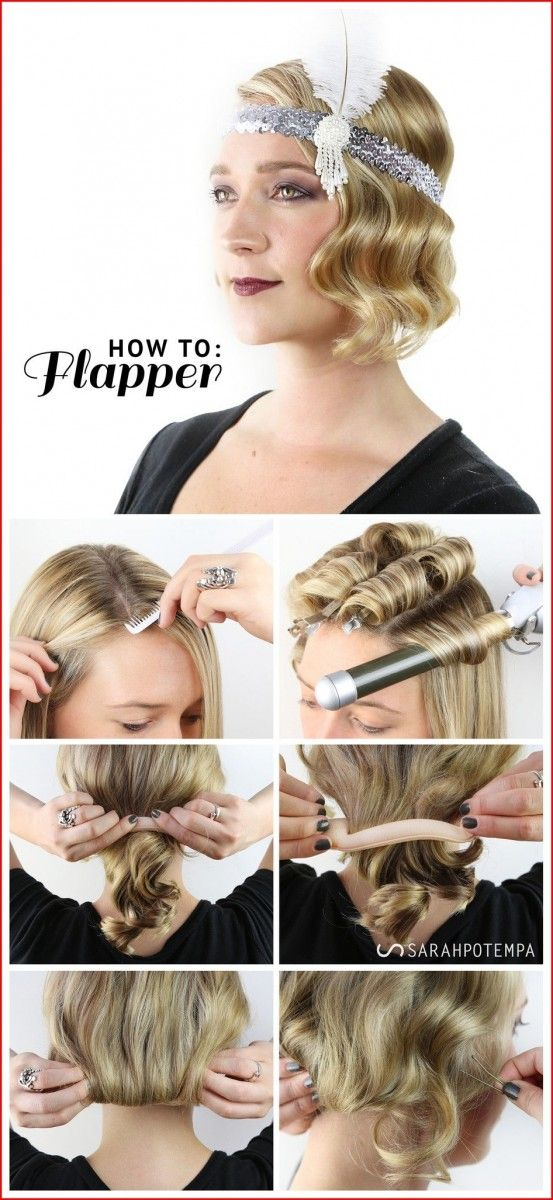 Easy Cute Hairstyles With The Fabulous Appearance Gatsby Hair Vintage Hairstyles For Long Hair Long Hair Styles