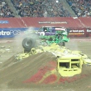 Wordless Wednesday - MONSTER JAM @ Ford Field, Detroit MI #WW - This Mamas Life