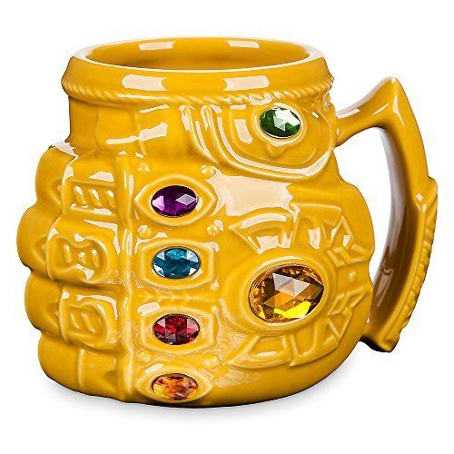 Thanos Infinity Gauntlet Mug ceramic anime Marvel Thanos vaso café