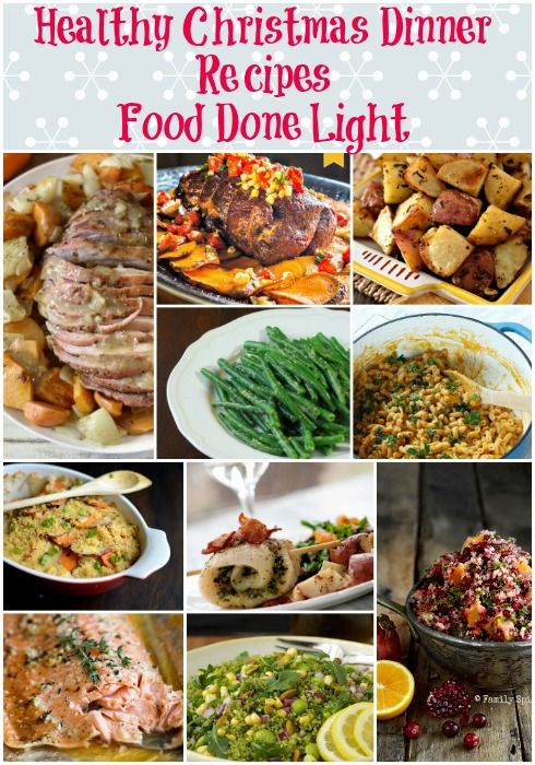 Healthy Christmas Dinner Recipes Low Calorie, Low Fat Pin it to your Christmas Board