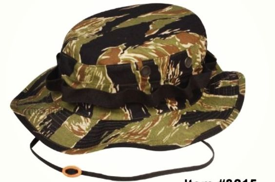 Vietnam Tiger Stripe Boonie Hat Tiger Stripes Hats Military Uniform