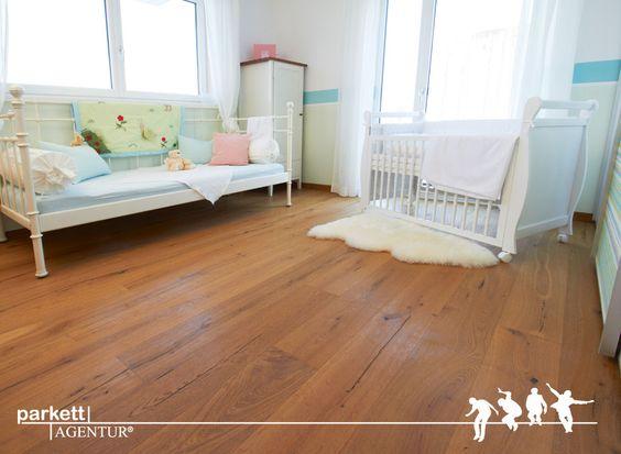 Kinderzimmer landhausdiele kerneiche #woodfloor #parkett #echtholz - parkett für badezimmer