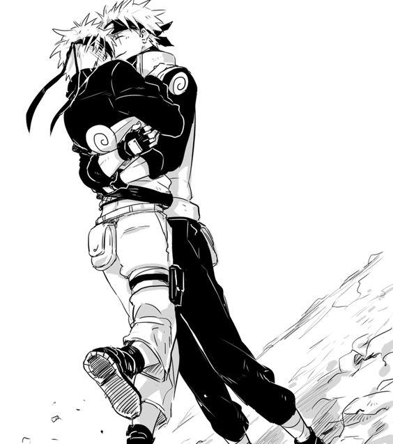 Naruto and Kakashi | KakaNaru
