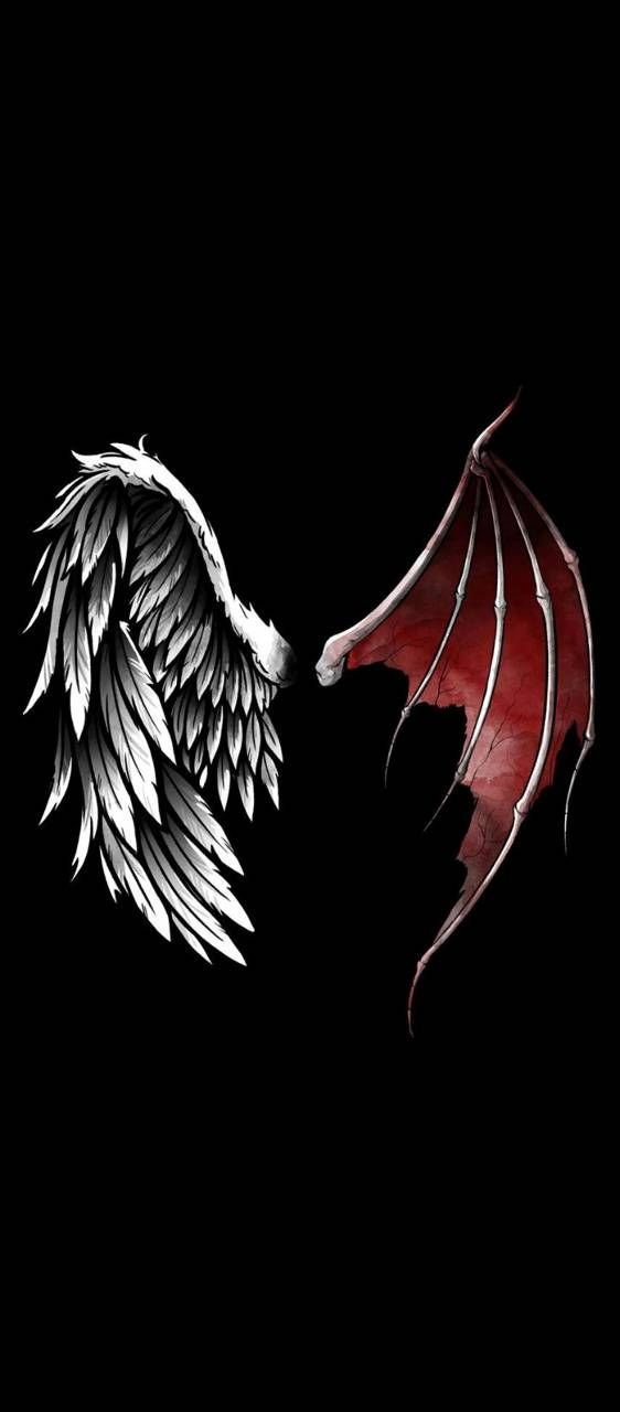 Pin On Tatuirovka Anubisa Black devil wings wallpaper