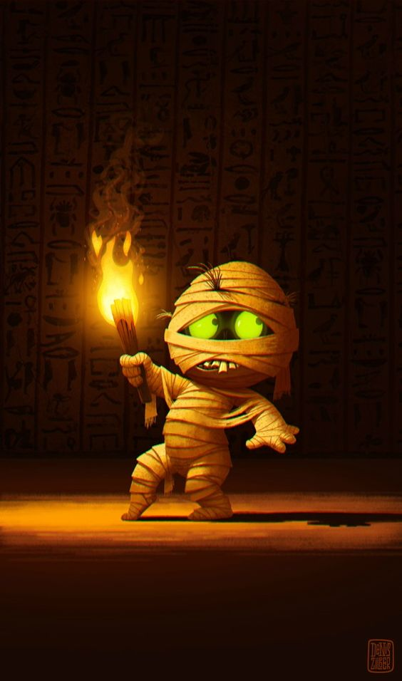 Little Mummy by Denis Zilber.