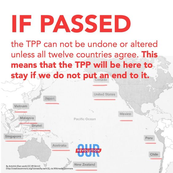 "Hillary has called this the ""Gold Standard"" of trade agreements!:"