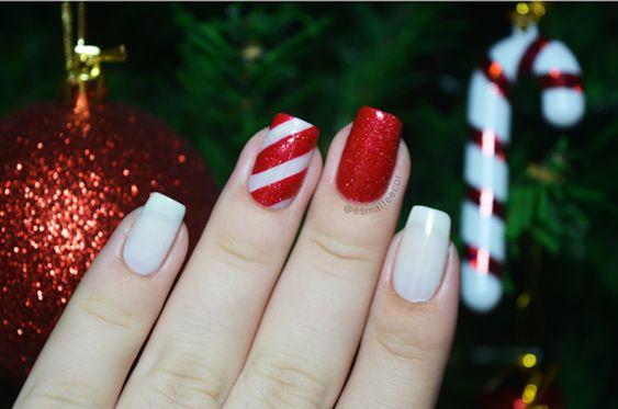 40 unhas decoradas vermelhas que são sexy e elegantes