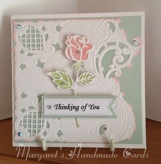 I have made this card for a friend who has just lost his mother.