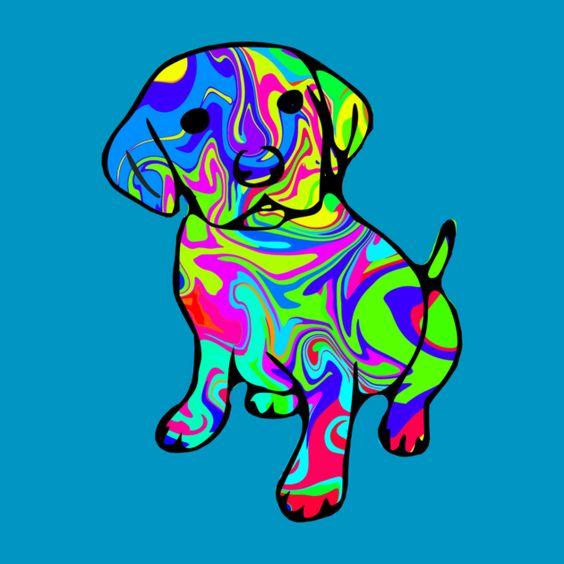 Awesome 'Puppy' design on TeePublic! animal, tshirt, t-shirt, colorful, colourful, kids, cute, cool, dog, labrador, awww, aww