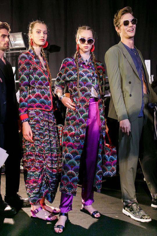 Emporio Armani | Paris Fashion Week | Spring 2017