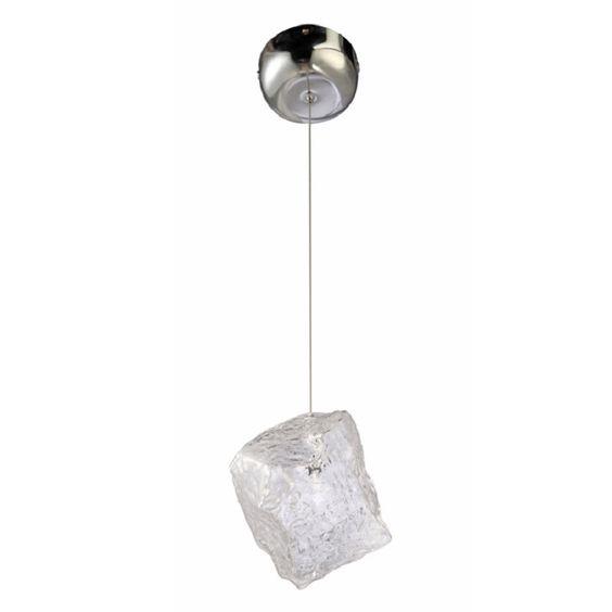 Fine Mod Imports FMI10253 Ice Glass Pendant Lamp Ceiling Light