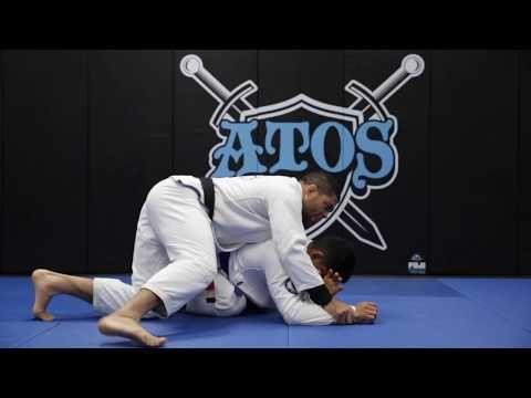 Collar Choke From The Back Andre Galvao Youtube In 2020 Andre Galvao Online Academy Atos Jiu Jitsu