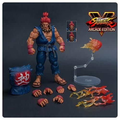 Storm Toys 1//12 Ultra Street Fighter II Akuma SDCC Action Figure