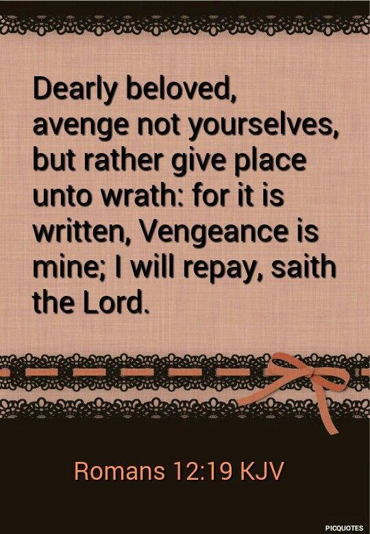 Image result for quote vengeance is mine saith the lord