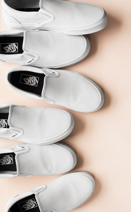 VANS Perf Leather Slip-On via garancedore.fr
