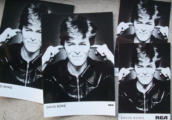 David Bowie original promo photos from RCA Records 1977