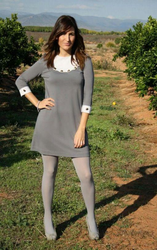 Grey Nylons