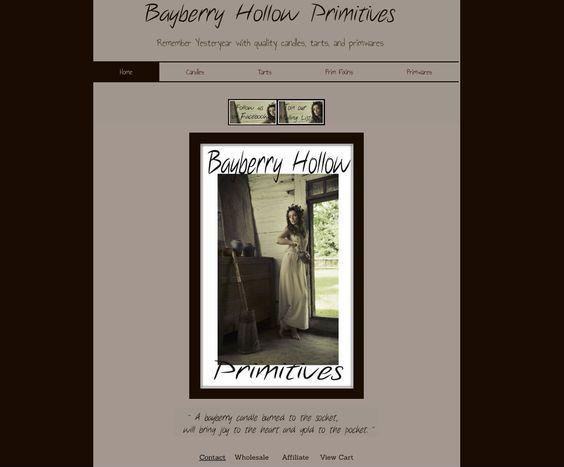 Bayberry Hollow Primitives - Design Portfolio - Fantastique Designs