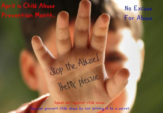 You can prevent child abuse by not letting it be a secret.