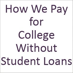 Student loans seem to be the most dreaded kind of debt and the kind that's hardest to avoid. This is how we've managed to make it through college without a single student loan. #saving #money #college