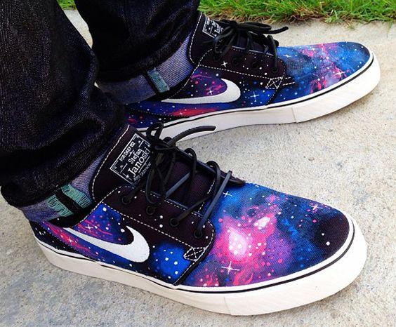 Nike SB Stefan Janoski Galaxy Customs by Biggie SB