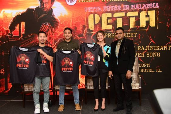 Petta Movie Promotions in malaysia