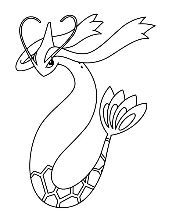 Coloring Page Pokemon Advanced Coloring Pages 148 Pokemon Coloring Pages Coloring Pages Pokemon Sketch