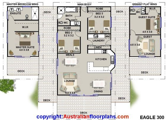 australian kit home cheap kit homes house plans for sale with granny flat wing ebay