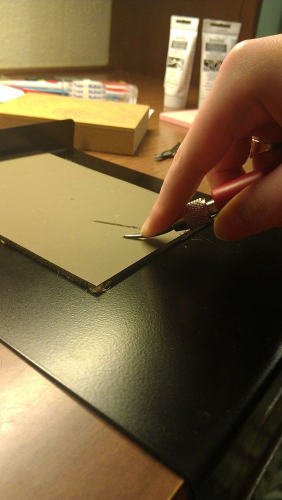 Linoleum Block Printing tutorial from Instructables - angela_b117
