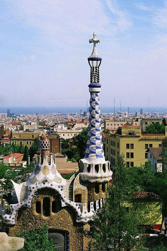 ✮ A View Over Barcelona From Parc Guell - Spain