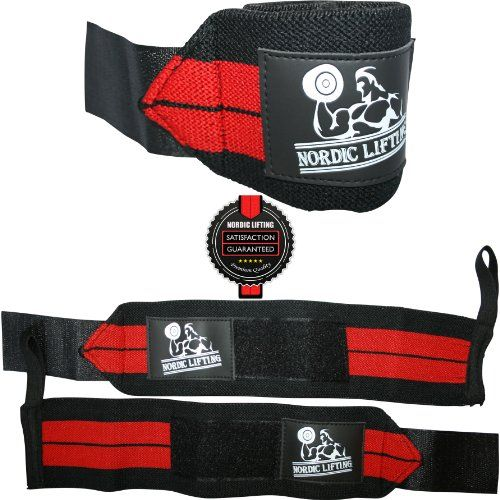 Wrist Wraps (1 Pair/2 Wraps) for Weightlifting/Crossf... - For Women & Men - Premium... - List price: $24.99 Price: $14.95