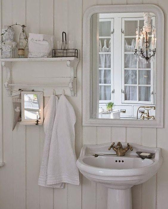 Shabby Chic Con Amore - Casa Shabby Chic. bath ideas Pinterest ...