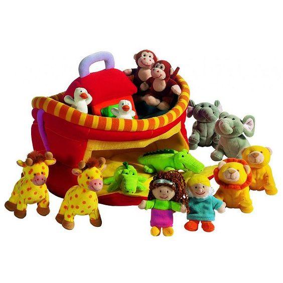 Arche de Noé en tissu Lilliputiens - Magasin de Jouets pour Enfants