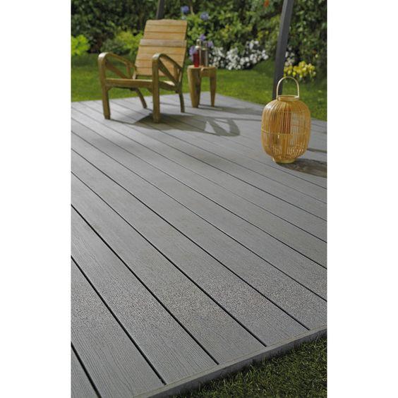 Lame de terrasse Premium Bois composite - Sols & murs
