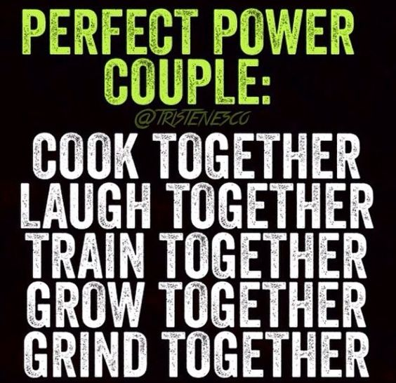 We're the perfect power couple....