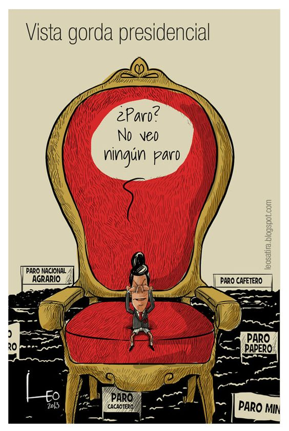 Vista gorda presidencial. Vista gorda presidencial / Leonardo Parra
